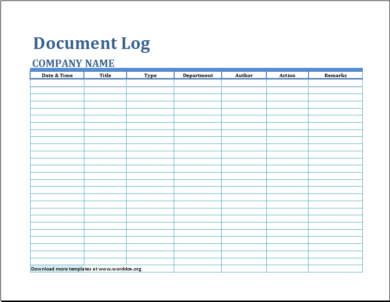 cancellation list template