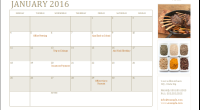 2016 Daily Task Planner template