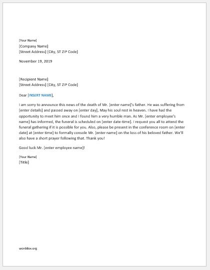 27 Announcement Letter Templates for Everyone | Word